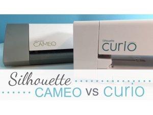 ความแตกต่างระหว่าง Silhouette Curio และ CAMEO (หรือ Protrait)